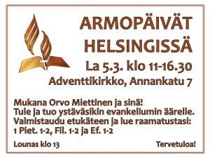 Armopäivät Helsingissä