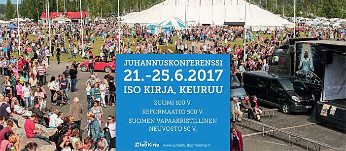 Vapaakristillisten kirkkojen yhteinen konferenssipäivä osaksi Suomi 100 -juhlavuoden ohjelmaa