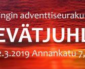 Helsingin adventtiseurakuntien kevätjuhla 2.3.2019