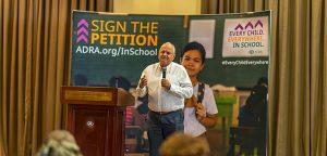 ADRAn maailmanlaajuinen kampanja: Jokainen lapsi. Kaikkialla. Koulussa.